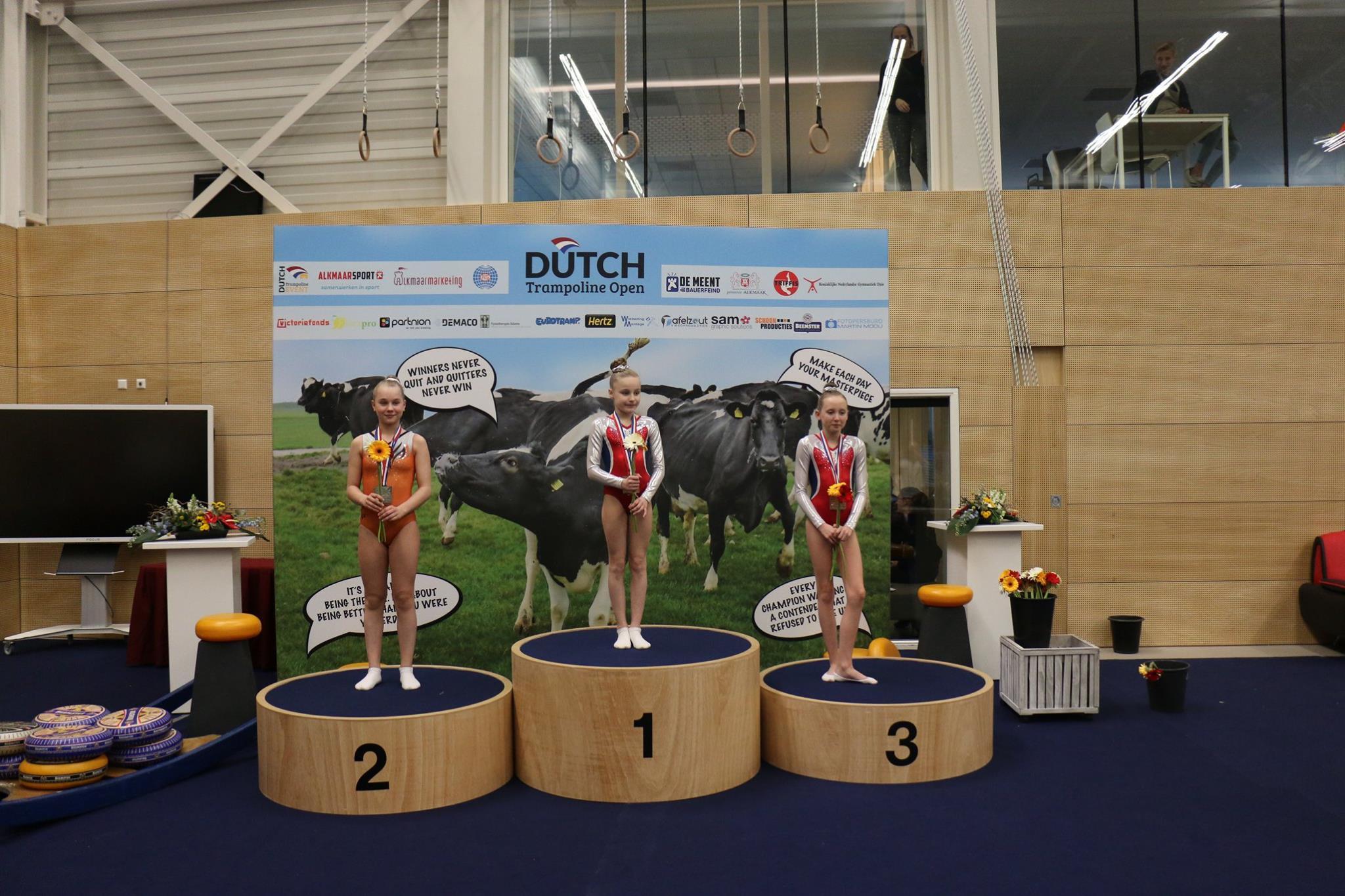 Goud Dutch Trampoline Open te Alkmaar