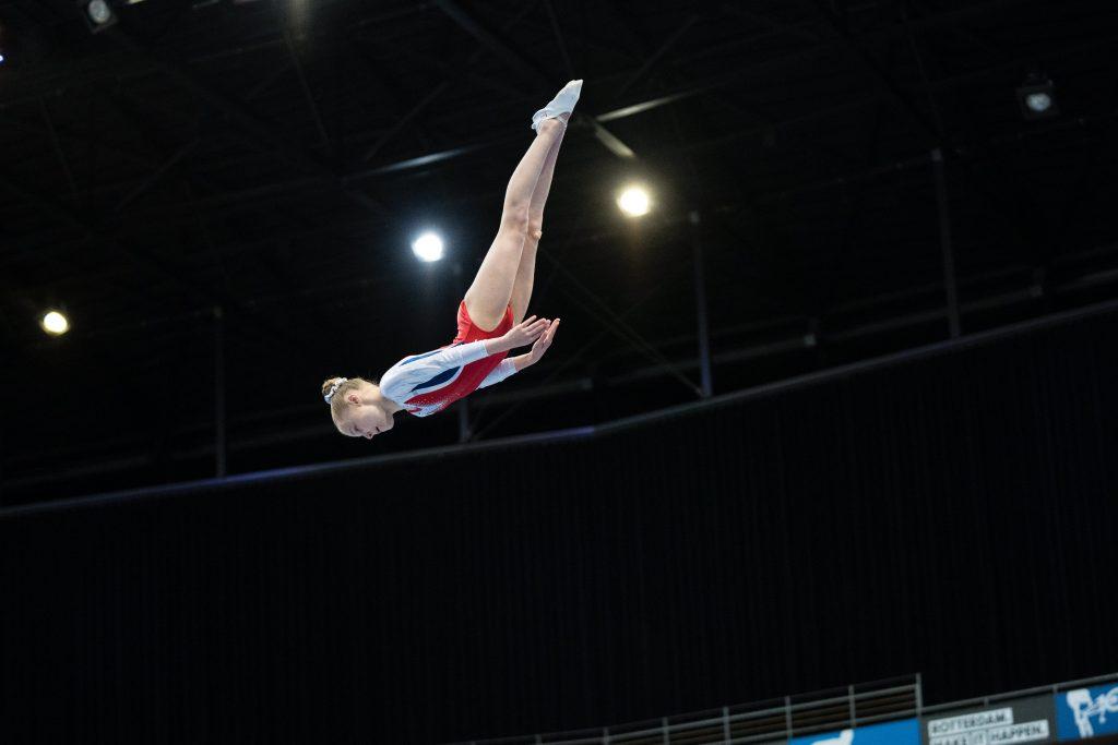 Rosbode, Megan Brouwers, 4e van de Wereld, WAGC Rusland, WK Trampolinespringen