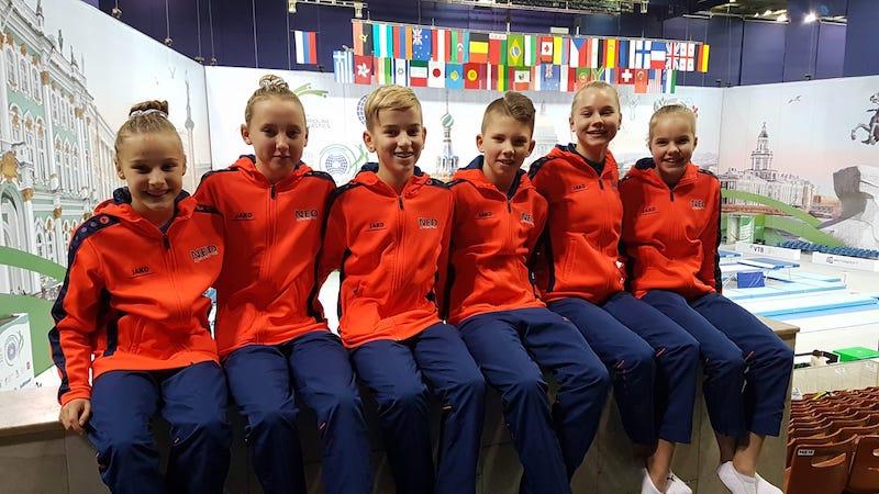 Megan Brouwers, Senna van Gelder, Cas Westbroek, Guus van den Besselaar, Eline Westhuis, Valerie Bosschart