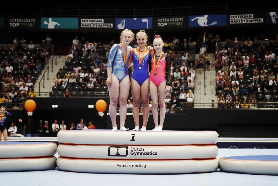 Megan Brouwers, NK 2019, Dutch Gymnastics