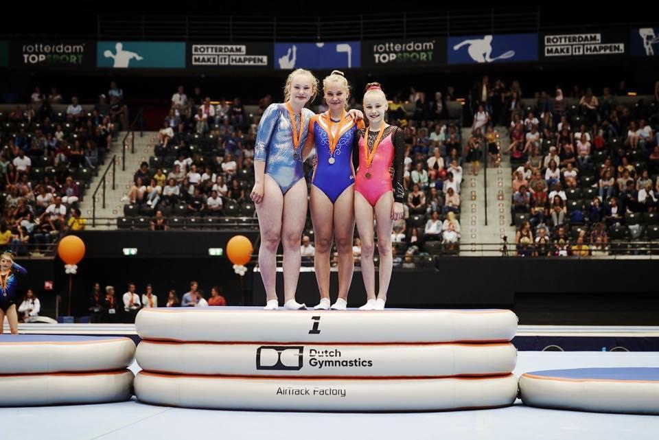 Megan Brouwers, NK 2019, Dutch Gymnastics